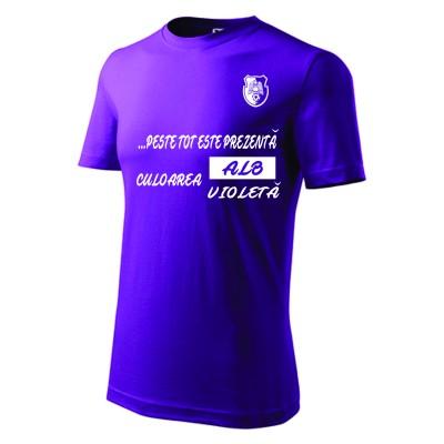 T SHIRT SLOGAN FC ARGES